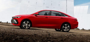 Geely Emgrand L. Фото Geely